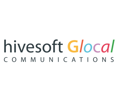 Logo hivesoft Glocal Communications