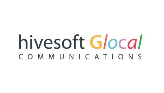 Logo hivesoft Glocal Communications